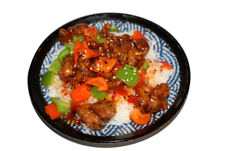 Foto Sweet and sour chicken rice